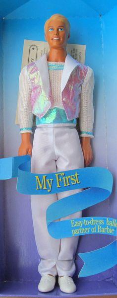 Mattel Ken doll 1992 blonde Ken Barbie & Ken dolls by lolatrail, $10.00