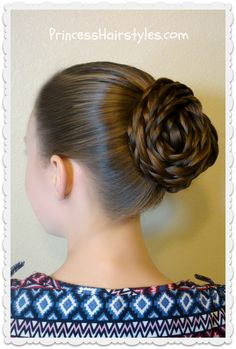 Easy textured updo hairstyle video tutorial