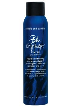 A Hairspray for 'Cool-Girl Hair', testing Bumble and Bumble's Cityswept Finish Spray part texturizing spray, one part cream, one part styling wax.
