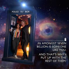But, the doctor also believes that everyone is important, and that there is no such thing as an ordinary human being...