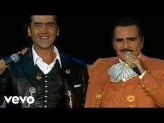 Vicente Fernández, Alejandro Fernández - Amor De Los Dos (En Vivo) - YouTube
