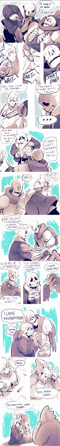 bromalgamate - Sans and Papyrus - comic (2/2) - http://moofrog.tumblr.com/post/133567061885/since-the-comic-for-the-bromalgamate-au-is-kinda