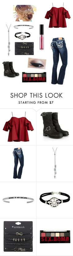 """""""Tough Girl"""" by leslien-1 ❤ liked on Polyvore featuring Anna October, Jimmy Choo, Bling Jewelry and NYX"""