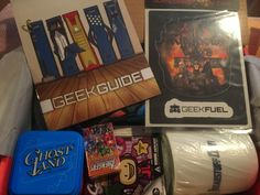 Outside the Box: Geek Fuel Review: April 2015