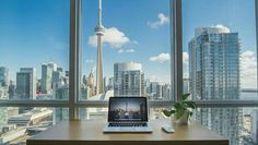 """Toronto is a city of neighborhoods. Choosing where to stay in Toronto depends on what type of experience you want to have in """"The We moved to Moving To Toronto, Toronto Travel, Toronto Ontario Canada, Minimalist Office, Concrete Jungle, Willis Tower, Wall Murals, Wall Art, Laos"""