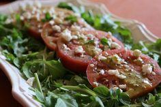 Heirloom Tomato & Arugula Salad