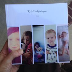 """LUV this too! Blurb Instant Designer Photo Book using the """"Zurich"""" template."""