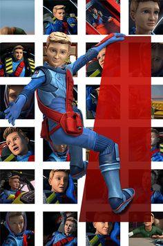 Alan Tracy Timeless Series, Thunderbirds Are Go, Fnaf, Captain America, Universe, Fan Art, Entertainment, Superhero, Design