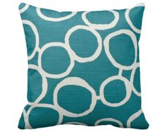 8 Sizes Available: Decorative Throw Pillow Cover Decorative Pillow Teal Pillow Green Pillow Green Home Decor Teal Home Decor Sofa Pillow