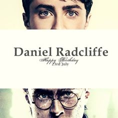 Harry potter, birthday, and daniel radcliffe image Harry Potter Always Quote, Harry Potter Room, Harry Potter Birthday, Harry Potter Quotes, Harry Potter World, Daniel Radcliffe, Happy Birthday 23, Books Vs Movies, Fan Picture