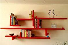 boekenplank - Google zoeken Shelves, Google, Diy, Home Decor, Shelving, Decoration Home, Bricolage, Room Decor, Shelving Units