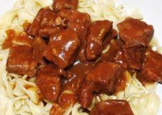 Recette : Bœuf en cubes de maman. Chicken Mushroom Recipes, Chinese Chicken Recipes, Chicken Drumstick Recipes, Grilled Chicken Recipes, Healthy Chicken Recipes, Meat Recipes, Crockpot Recipes, Cube Recipe, Recipe Mom