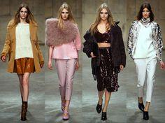 Fall 2013 London Fashion Week: Unique on http://www.oliviapalermo.com