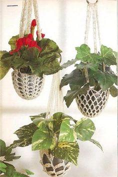 Plant Hangers Crochet Pattern | eBay