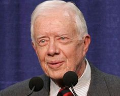 Jimmy Carter. American values done right. Grace, intelligence, integrity.