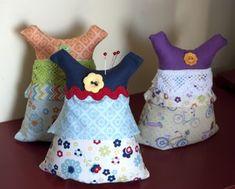 Riley Blake Designs -- Cutting Corners: Dress Pincushion