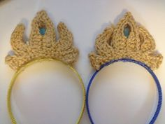 Elsa's Crown (Frozen) ~ Free Crochet Pattern  Tutorial | Cogaroo Crafts----- I would totally do this!