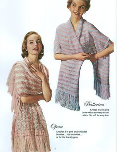 Stoles And Shrugs Knitting Crochet and Hairpin Lace by dianeh5091