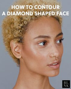 💎💎 If you have a diamond-shaped face like (so, wider cheeks and narrow forehead and chin) creating a shadow just beneath your cheekbones will sculpt 'em so they look extra snatched. Nose Makeup, Contour Makeup, How To Contour Your Face, Contour Face, Makeup Videos, Makeup Tips, Microblading Eyebrows After Care, Poses Modelo, Beauty