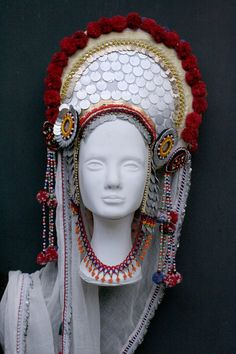 Bulgarian headpiece