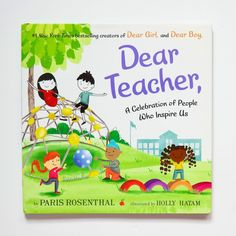 From the #1 New York Times bestselling team behind Dear Girl, and Dear Boy, comes a heartfelt thank-you letter written to educators, coaches, leaders, role models, mentors, and heroes everywhere! A perfect gift for back to school, National Teachers' Day, Teacher Appreciation Week, and the last day of school. 📸 @kidlitismagic
