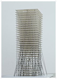 Zhengzhou Tower II by Christian Kerez.