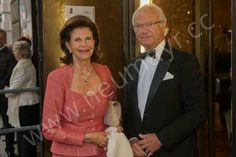 "King Carl Gustaf and Queen Silvia attended yesterday the ""Love of Danae"" Opera at Salzburg Festival."