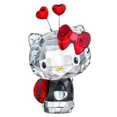Swarovski Hello Kitty Ladybug Red/Black - $184