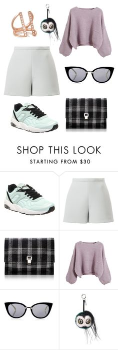 """""""Untitled #351"""" by gigi3646 ❤ liked on Polyvore featuring Puma, Delpozo, Proenza Schouler, Chicnova Fashion, Fendi and Carbon & Hyde"""
