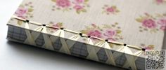 12. #Ribbon - 12 More DIY Notebooks to Make ... → #Lifestyle #Notebooks