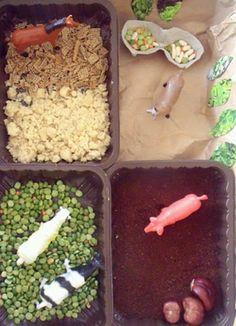 Small farm - sensory play