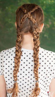 #Tutoriales de peinado inspirados en las Princesas #Disney ¿Cómo hacerse la #trenza de Alma? #DIY #hairstyle #peinados