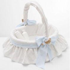 Panier en osier dans Puériculture achetez au meilleur prix avec ... Baby Baskets, Easter Baskets, Baby Shawer, Diy Home Crafts, Diy Clay, Blue Wedding, Holidays And Events, Baby Room, Baby Dolls