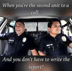 LEO's know!                                                                                                                                                     More #policehumor