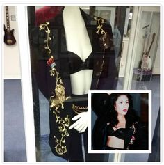 This is on display at the Selena museum.