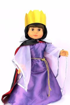 American Fashion World Doll Maleficent Outfit - Main Image