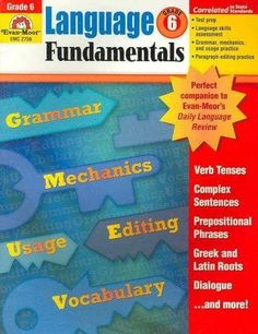 Language Fundamentals: Grade 6