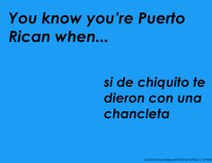 You know you're Puerto Rican when...: Photo
