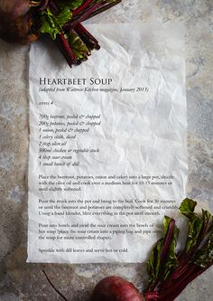 Heartbeet Soup Recipe