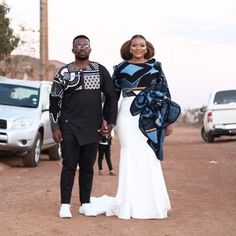 Keagile & Tebogo's Elegant Sotho Wedding African Wedding Attire, African Attire, African Prom Dresses, African Dress, African Wear, Traditional Wedding Attire, Traditional Outfits, South African Traditional Dresses, Groom And Groomsmen Suits