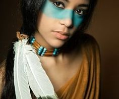 native american makeup..Halloween