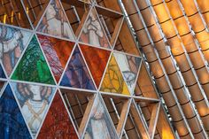 The Transitional 'cardboard' Cathedral - Picture gallery