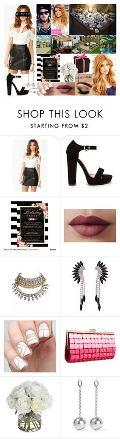 """""""Tori's Birthday Party"""" by godslastgift ❤ liked on Polyvore featuring LORAC, INC International Concepts, Sephora Collection, Diane James, Isabel Marant and Catbird"""