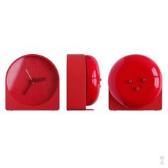 KAGADATO selection. The best in the world. Industrial design. ************************************** I.D.E.A - Bell Alarm Clock by Sam Hecht for Industrial Facility