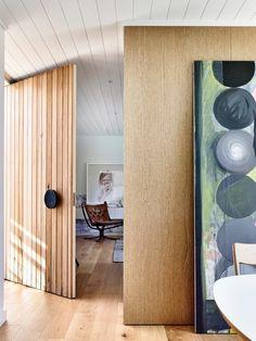 That Door! Malvern Residence entry by Doherty Design Studio. Timber Front Door, Front Door Entrance, Entry Doors, Front Doors, Front Entry, Entryway, Interior Architecture, Interior Design, Pivot Doors