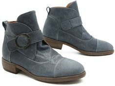 Pep Monjo Cora (779) $342.00. Made in Menorca, Spain. Oh, mi corazon, Pep Monjo's Cora is my latest heartthrob! This rock 'n' roll bootie, with its retro vibe, might just be my favorite this season! Slide your foot onto the padded insole in the leather-lined interior, adjust the oversized bronze buckle on the single strap, and you will instantly become the chicest woman on the street!