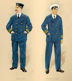 C. Urbez, Capitán 1926 - Piloto con Mando 1953, respectivamente.