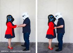 Star Wars Day 2016 | Stat Wars | Star Wars Day | May the 4th be with you | Darth Vader | Stormtrooper | Star Wars Engagement | Engagement Session | Engagement Ring | http://www.bmunozphotography.com/2016/05/star-wars-day-2016.html