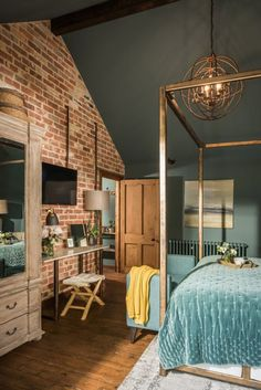 The Sanctuary – Hampshire, UK (House of Turquoise) Home, Home Bedroom, Rustic Bedroom, Bedroom Design, House Design, Bedroom Decor, Bedroom Diy, Interior Design, House Interior