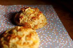 Cheddar Paprika Biscuits  by joy the baker, via Flickr.  Going to substitute blue cheese per another's recommendation ...